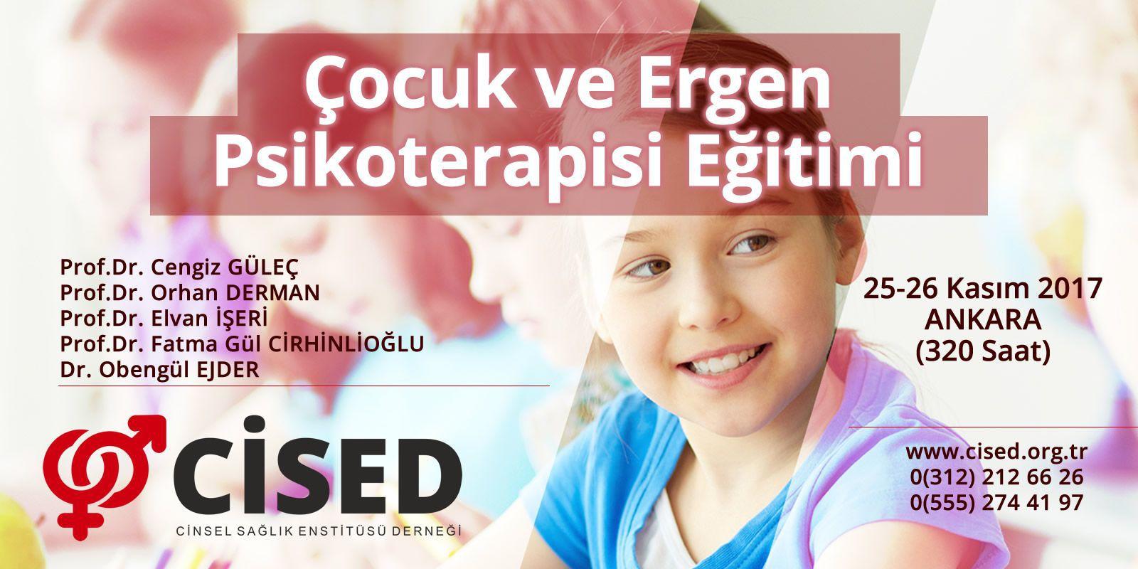 Çocuk ve Ergen Psikoterapisi Eğitimi