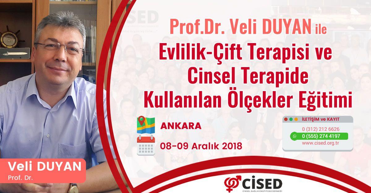 Prof.Dr. Veli DUYAN ile Evlilik - Çift Terapisi ve Cinsel Terapide Kullanılan Ölçekler Eğitimi