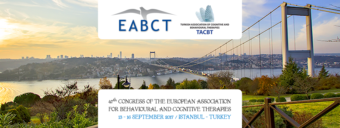 47th CONGRESS OF THE EUROPEAN ASSOCIATION FOR BEHAVIOURAL AND COGNITIVE THERAPIES