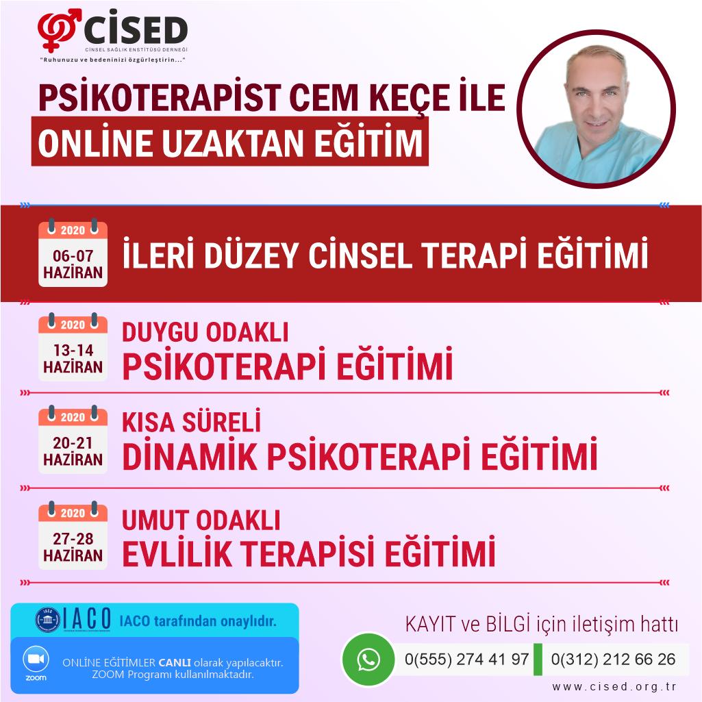 CİSED Online Eğitimleri