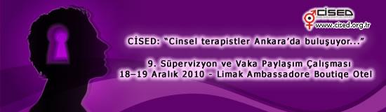 Cinsel terapistler Ankara'da buluşuyor...