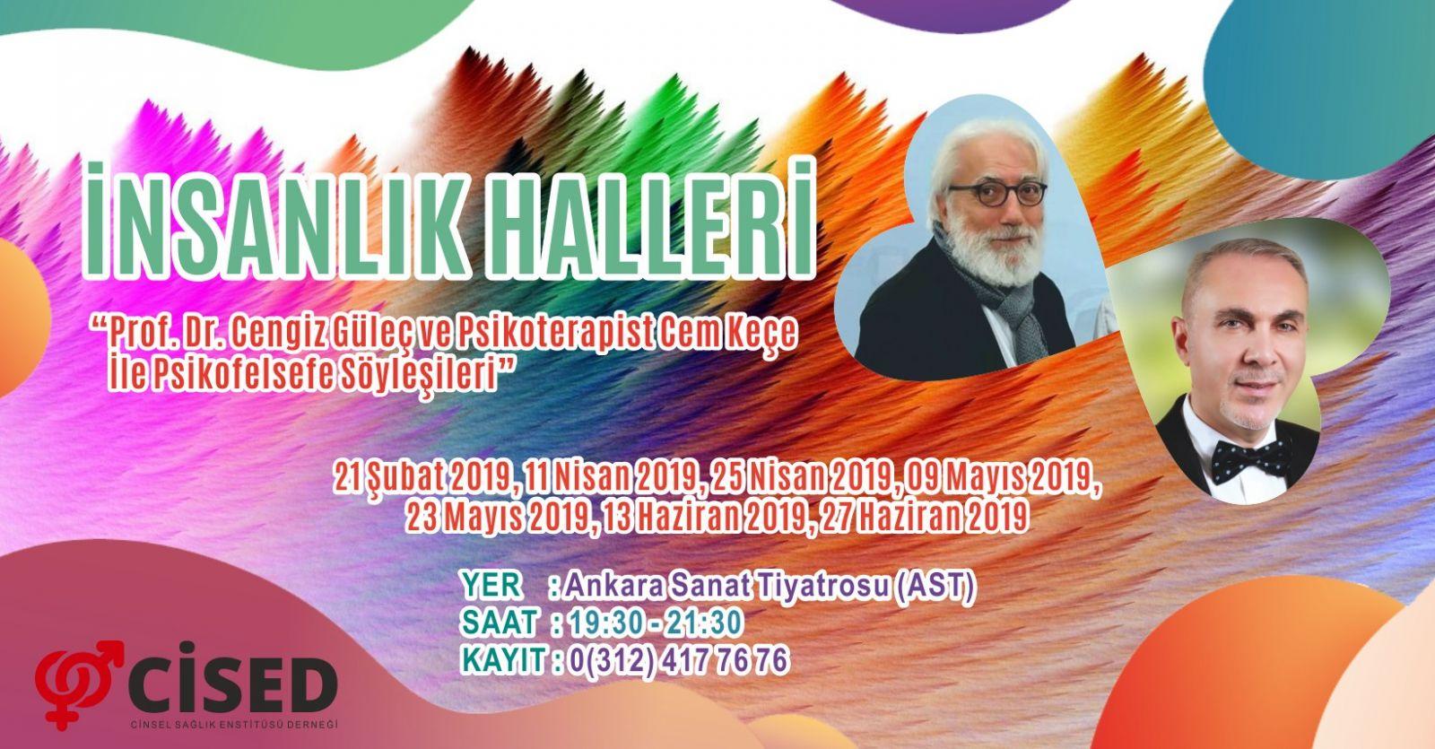 İnsanlık Halleri : Prof. Dr. Cengiz Güleç ve Psikoterapist Cem Keçe İle Psikofelsefe Söyleşileri