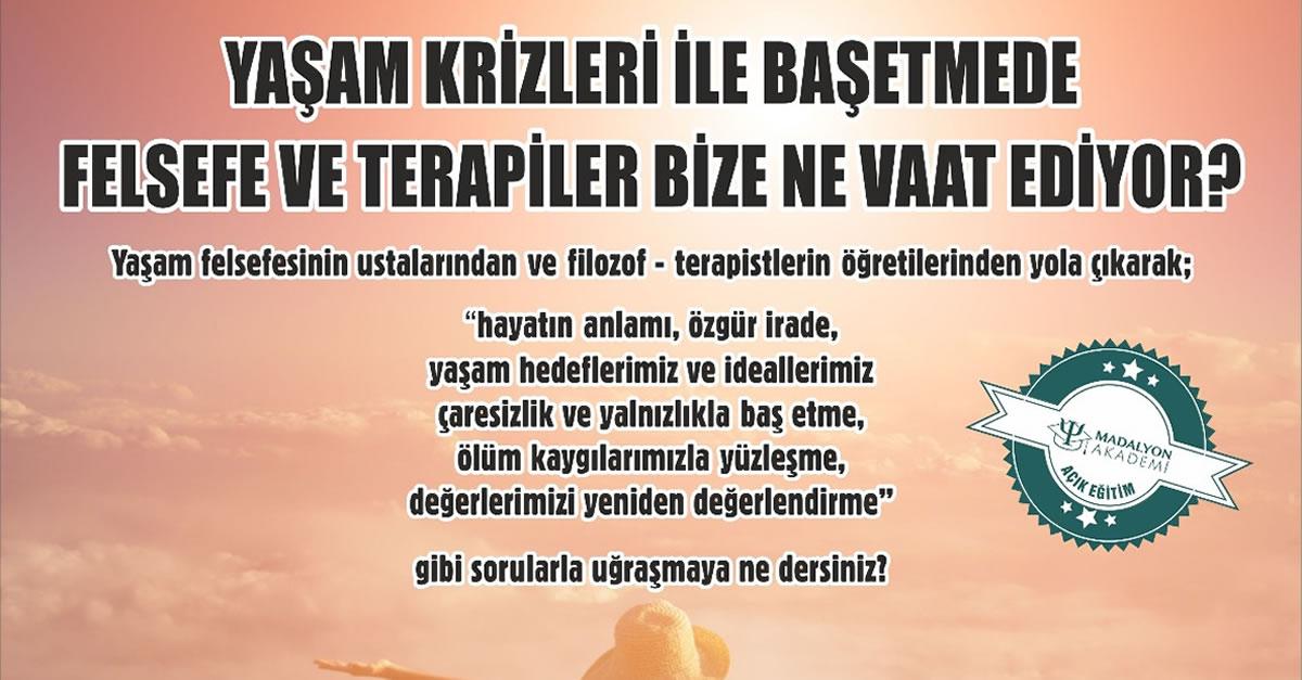 Prof.Dr. Mehmet Cengiz Güleç 'Yaşam Krizleri İle Başetmede Felesefe Ve Terapiler Bize Ne Vaat Ediyor Eğitimi'