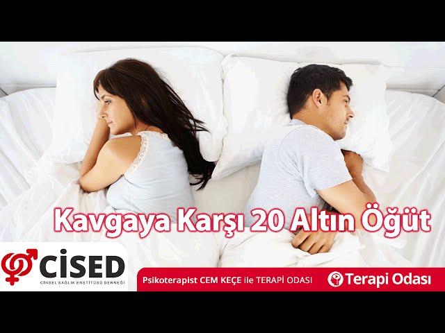 Kavgaya Karþý 20 Altýn Öðüt - Terapi Odasý
