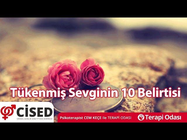 Tükenmiþ Sevginin 10 Belirtisi - Terapi Odasý