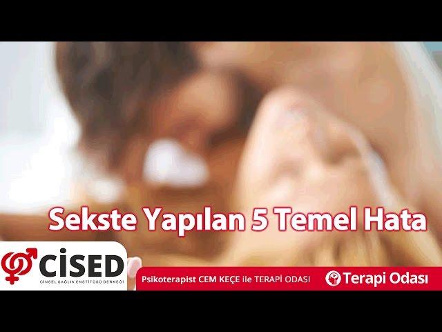 Sekste Yapýlan 5 Temel Hata - Terapi Odasý